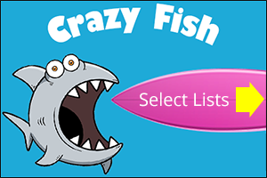 Crazy Fish Educational Spelling Game