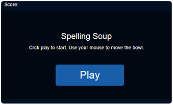 Spelling Soup Game